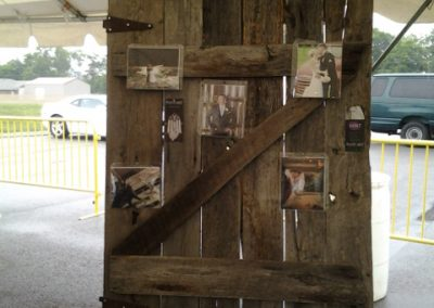 Rustic Photo Board