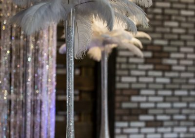 Wedding Ceremony Feather Vase Decor